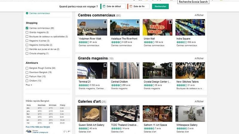 Liste des centres commerciaux à Bangkok sur Tripadvisor