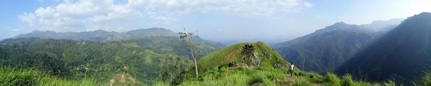 Vue depuis Little Adam's Peak, Ella, Sri Lanka