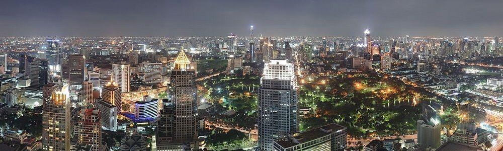 Bangkok la nuit, Thaïlande