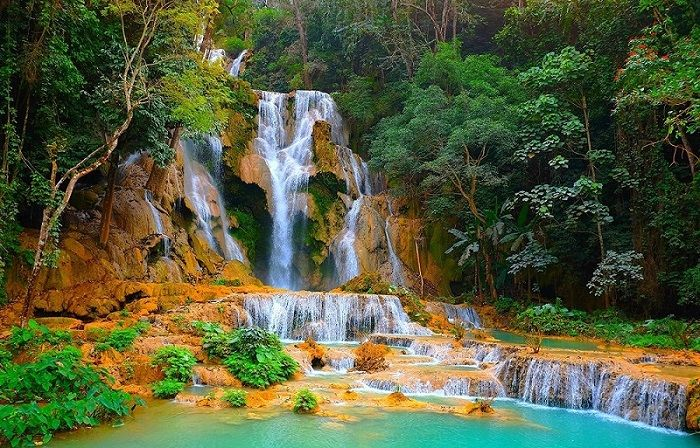 Chutes de Kuang Si, Laos