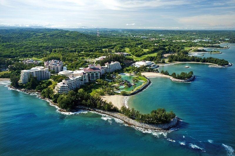 Complexe hôtelier luxueux au bord de mer, Brunei