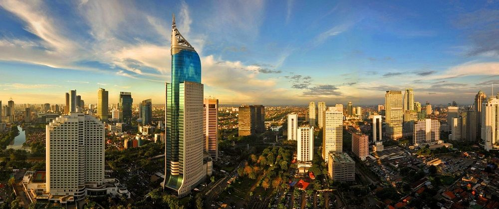 Jakarta, capitale de l'Indonésie