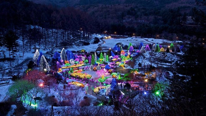 Jardin du matin calme, Achim Goyo, Corée du Sud