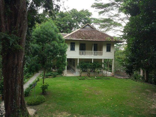 maison d'Agnes Keith Sandakan